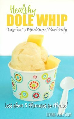 healthy dole pineapple whip recipe