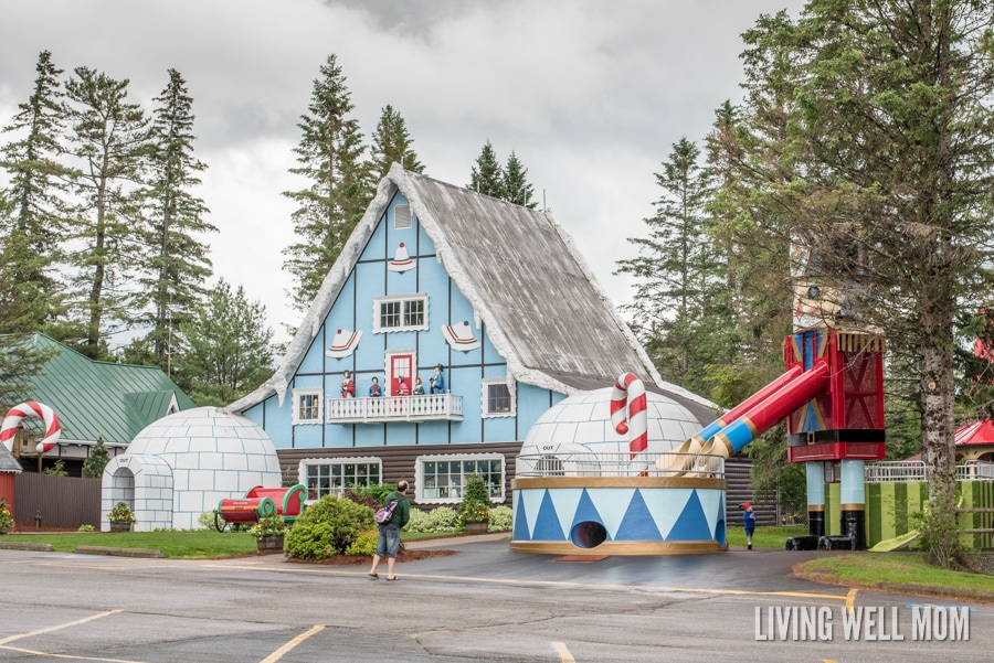 Do you offer a package deal or discount tickets for Santa's Village?