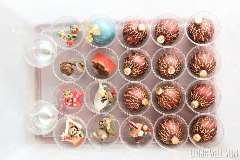 Looking for a way to safely store your breakable Christmas ornaments without the fancy systems? Here's how to do it with supplies you probably already have at home! Simple organization
