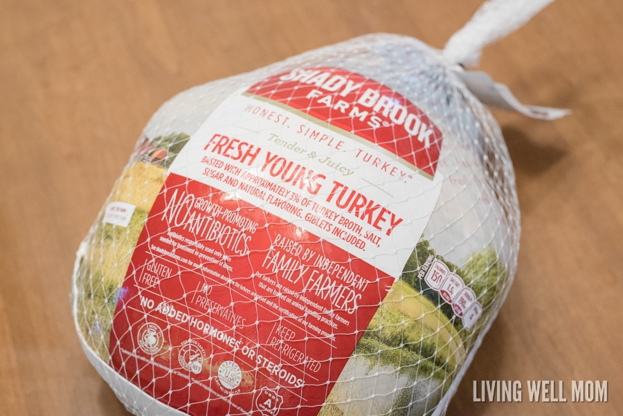 Orange Herbed Turkey with Spiced Rub - with savory herbs and spices, this recipe results in a mouthwatering tender bird so delicious everyone will want seconds or thirds! It's simple to make with only a little more prep time compared to a basic Thanksgiving turkey.