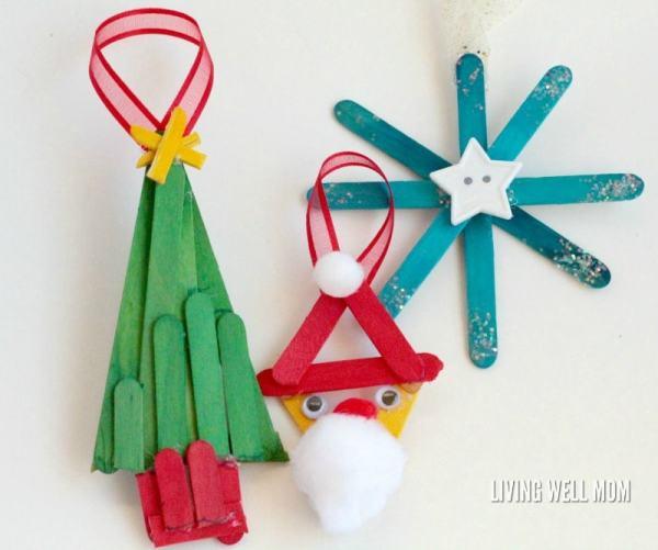 christmas ornaments popsicle sticks # 50