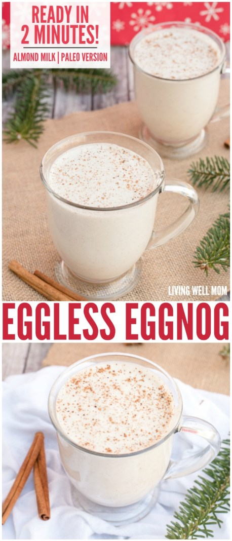 eggless eggnog ready in 2 minutes
