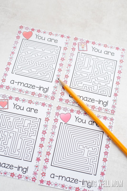 Perfect for busy moms who don't have time for a fancy craft projects with their kids, these free printable valentines are a fun quick and easy activity.