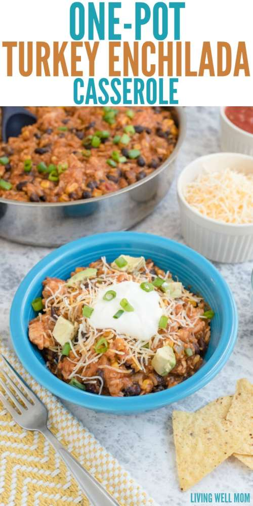 This hearty, gluten-free, one-pot dinner is ready in 30 minutes or less and easy enough for Dad to make! Kids love this Mexican dinner too!