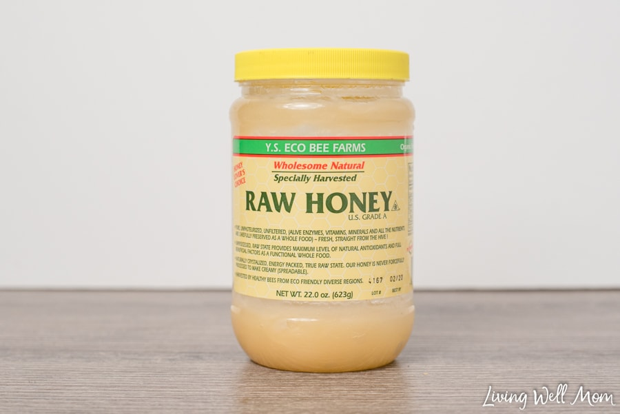 raw honey for seasonal allergies