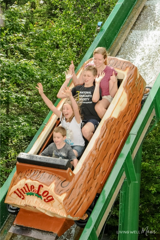 16 Reasons Why You Need to Take Your Family to Santa's Village in Jefferson, NH - from meeting Santa himself to feeding his reindeer, fun roller coasters and an awesome watermark, Santa's Village is an amazing family attraction the whole family will love!
