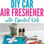 Diy Car Air Freshener With Essential Oils