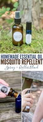 homemade essential oil mosquito repellent recipe