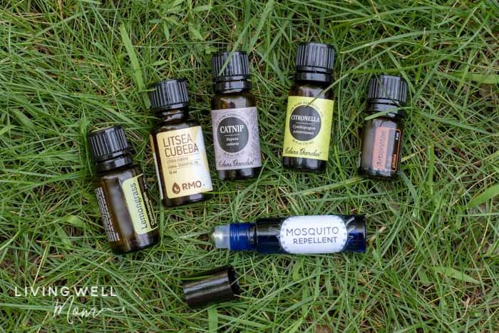 essential oils for mosquito repellent roller blend