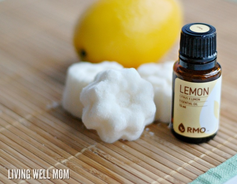 Deodorize your fridge simply and naturally with this easy DIY fridge deodorizer using your favorite essential oils.