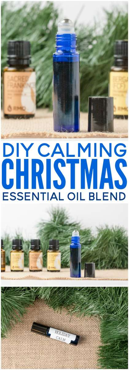 This Holiday Calming Essential Oil Blend can bring back the joy this Christmas. It may help uplift your mood, reduce stress levels, relax, and improve brain fog. (Moms love it!) Get the easy DIY blend here.
