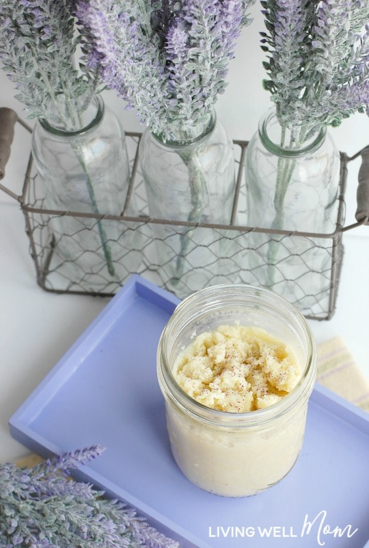 Homemade Body Butter With Calming Essential Oils