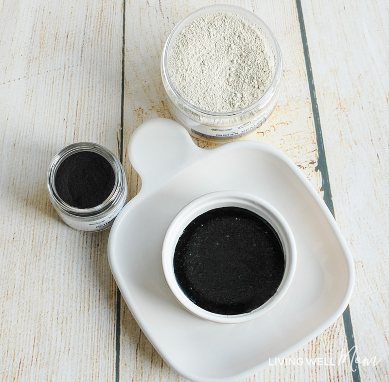 How to make an easy DIY charcoal face mask - using all-natural ingredients, this simple homemade mask is a great, easy way to pamper yourself.