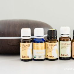 """This """"Uplifting"""" essential oil diffuser blend may help improve your mood, reduce depression, and raise your spirits. There are two simple diffuser recipes here - one for daytime use and a second for the evening. #essentialoils #essentialoildiffuser #diffuserblends"""