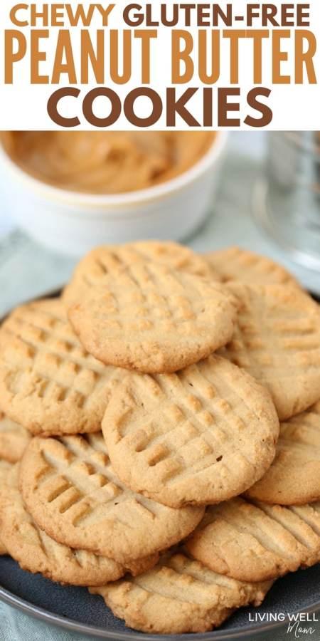gluten-free peanut butter cookies recipe