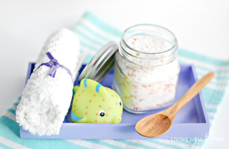 homemade bath salts for kids