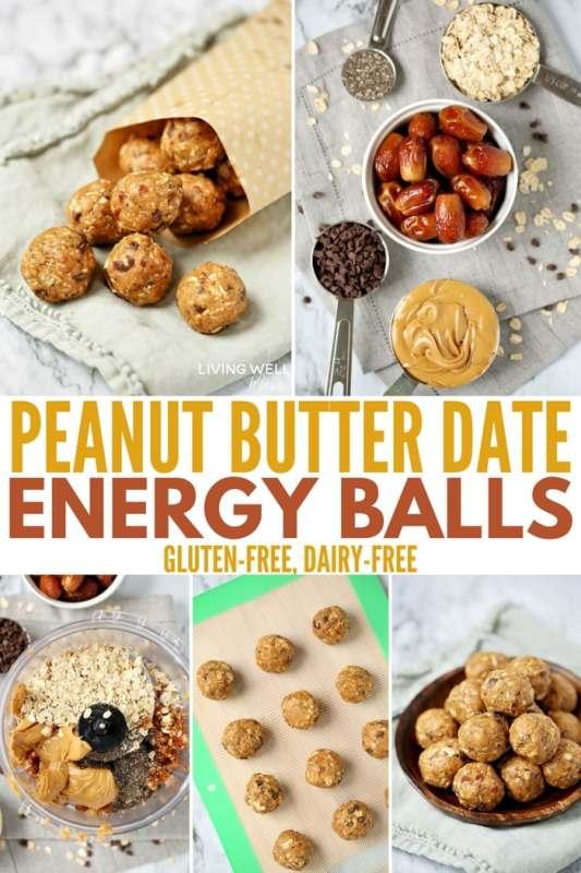 Peanut Butter Date Energy Balls Recipe