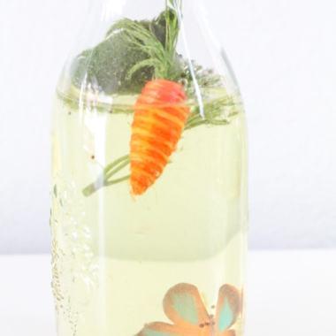 spring sensory bottle for children