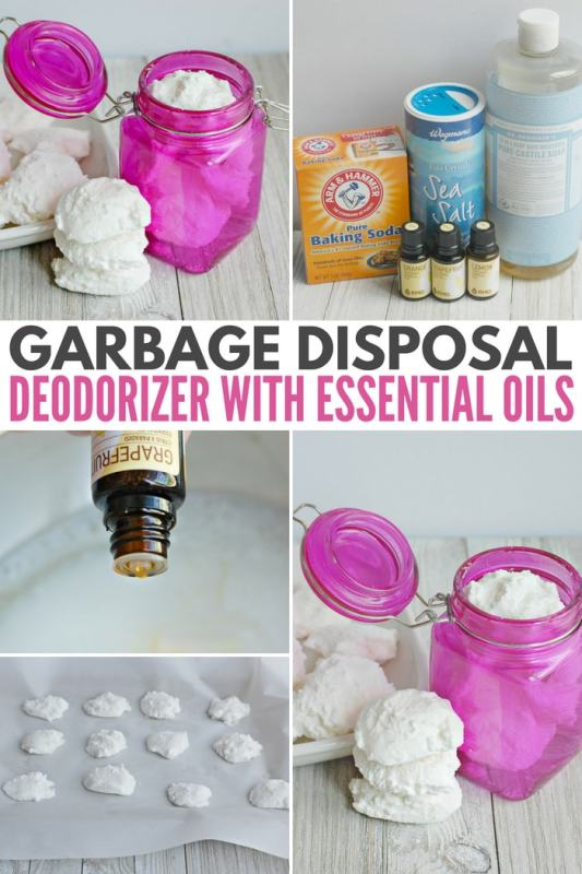 Garbage Disposal Deodorizer with Essential Oils