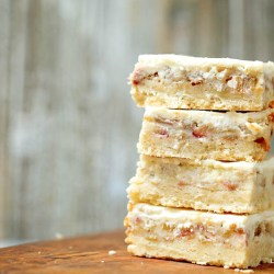 rhubarb custard bars gluten-free recipe