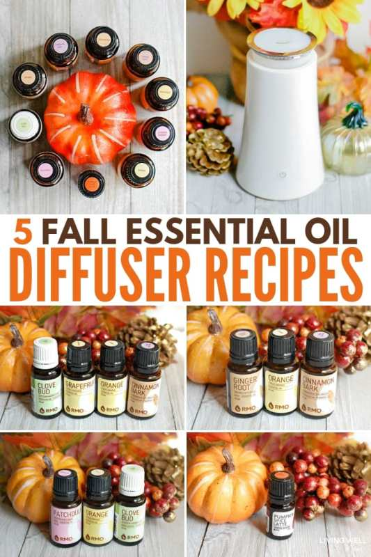 5 Fall Essential Oil Diffuser Recipe