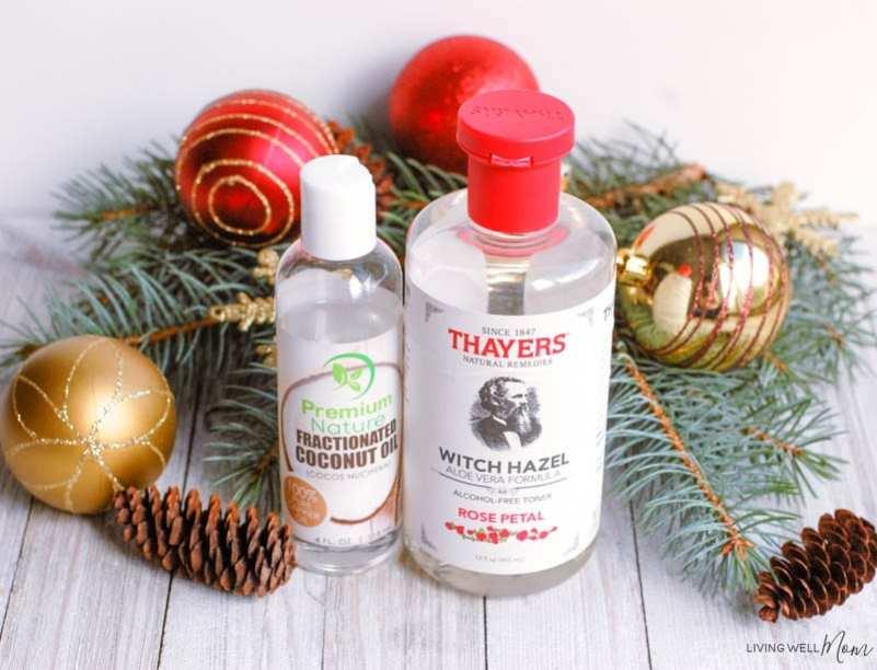 DIY Air Freshener with Christmas Essential Oils - Living