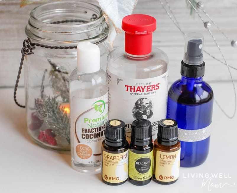 """Happy """" Essential Oil Room Spray   Easy DIY"""