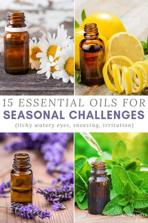 essential oils for seasonal allergy relief