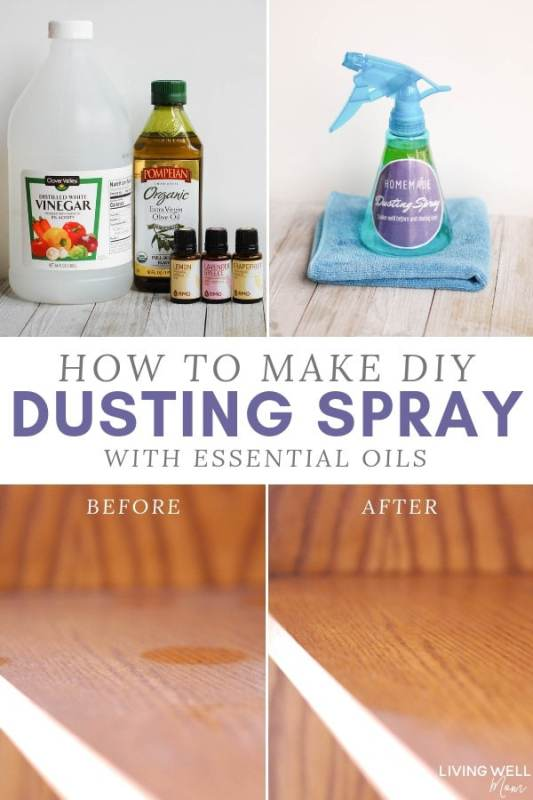 How to Make DIY Dusting Spray with Essential Oils