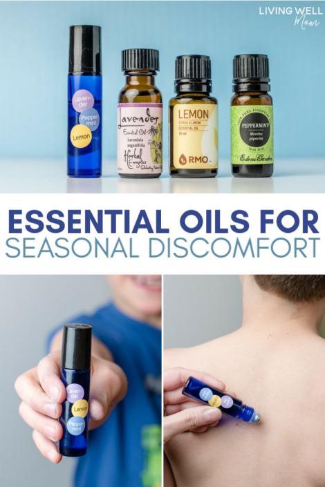 essential oils for seasonal discomfort allergies