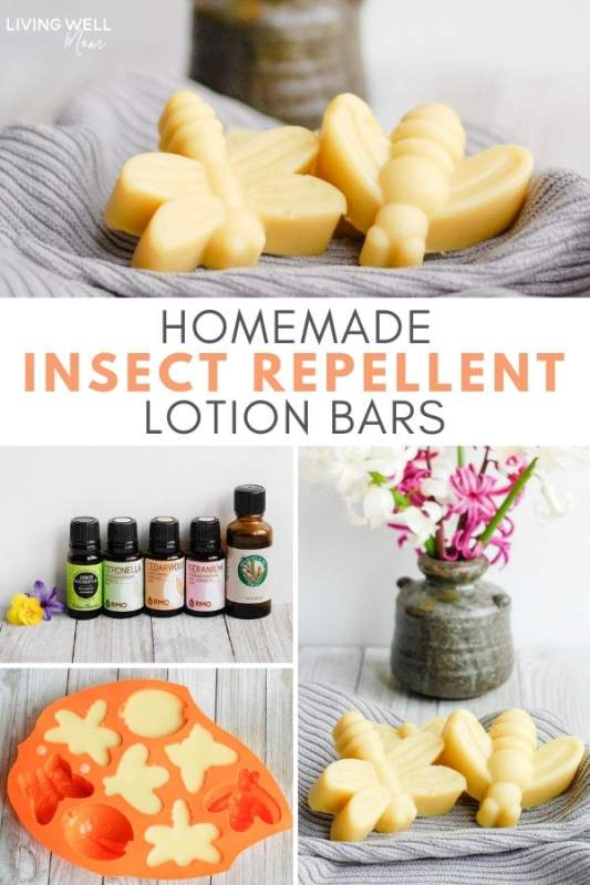 Homemade Insect Repellent Lotion Bars
