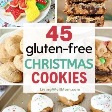 45 gluten-free Christmas cookies roundup