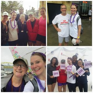 My friends and family who made up my team at least year's Fun Run/Walk!