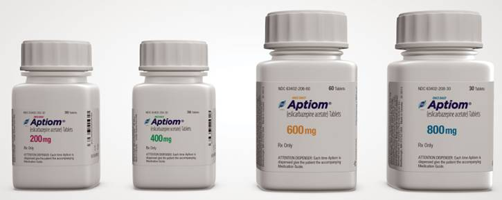 Aptiom product photo