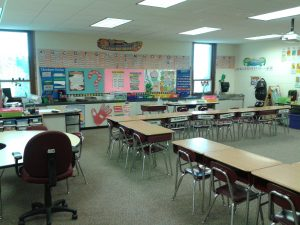 Classrooms are ready to be full of students, ready to learn and succeed!