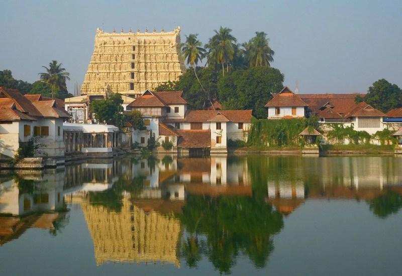 At the Sri Padmanabhaswamy Temple