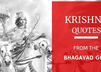Krishna Quotes (Bhagavad Gita)