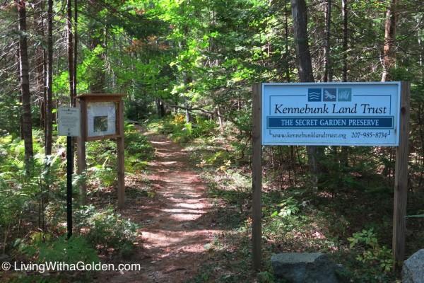 The Secret Garden – Kennebunk, ME – Living with a Golden