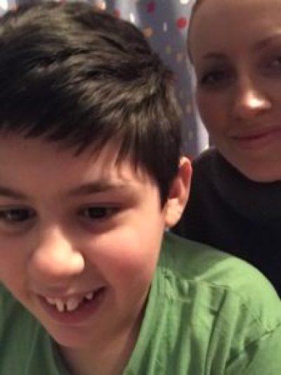 Mum and child talking about Waitrose