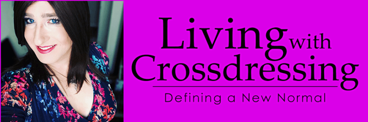Living-With-Crossdressing: Defining a New Normal banner with author Savannah Hauk