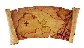 scroll-treasure-map