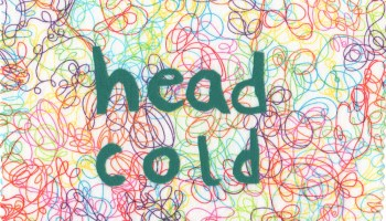 head-cold-colorful-background