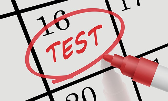 test-circled-on-calendar