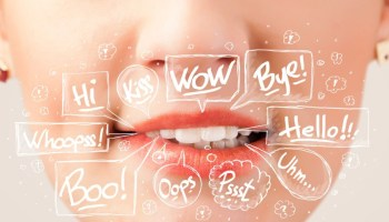 mouth-with-word-bubbles