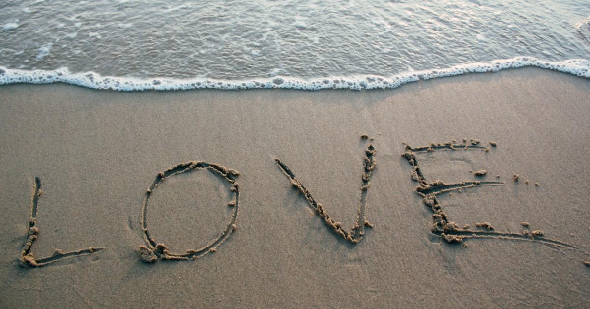 LOVE-written-sand-beach