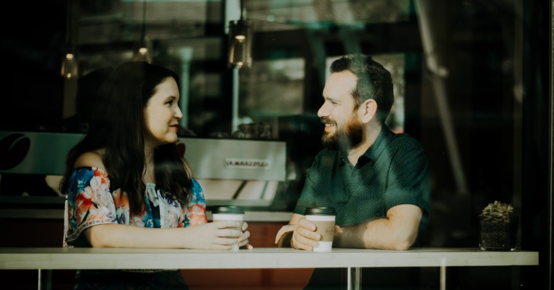 man-woman-having-coffee