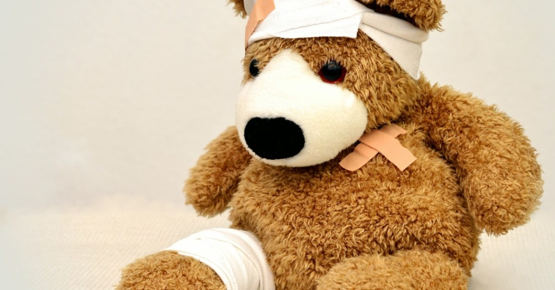 teddy-bear-with-bandages