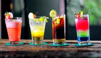 four-colorful-cocktails-on-bar