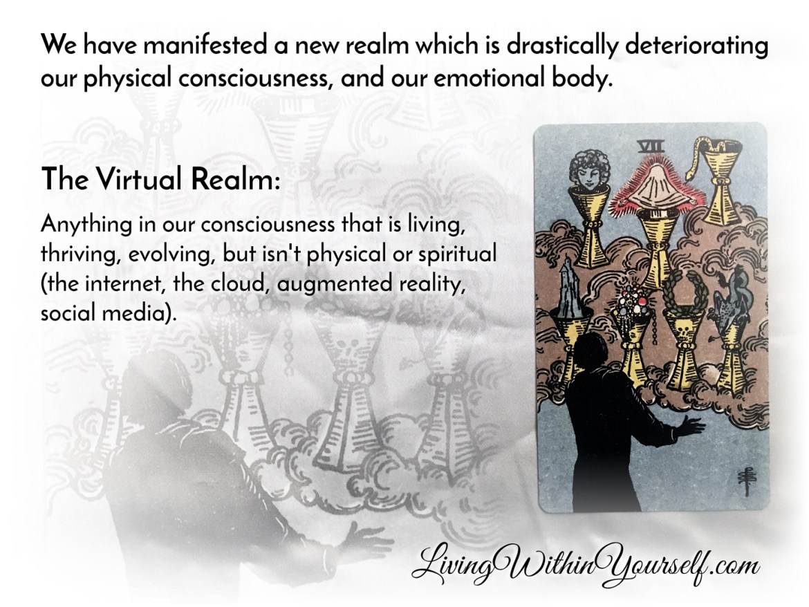 The Virtual Realm - 7 of Cups