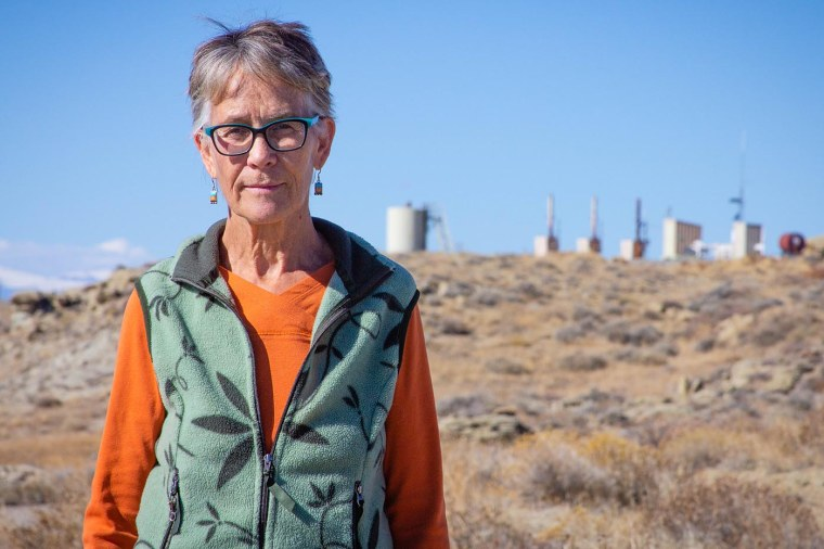 Sue Spencer geologist